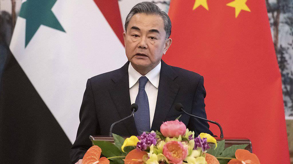 """Der chinesische Aussenminister Wang Yi hat mit Blick auf die von den USA angekündigte Entsendung von weiteren tausend Soldaten in die Golfregion gewarnt, es dürfe keine """"Pandora-Büchse"""" geöffnet werden."""