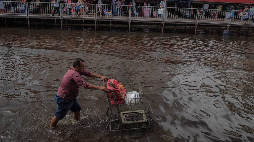 Jahrhundert-Hochwasser in Brasilien: Amazonas-Flüsse brechen Rekorde