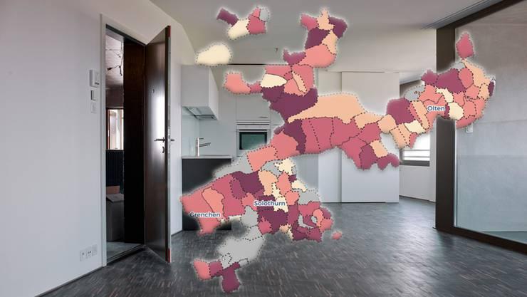 Leere Wohnungen gibt es momentan zuhauf.