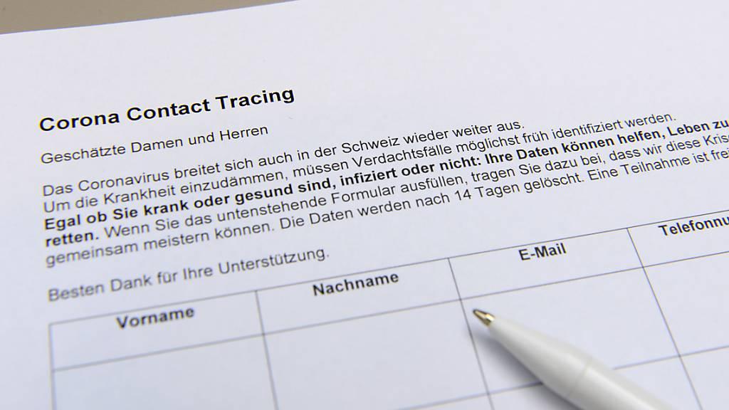 Für das Contact Tracing sind die Kantone zuständig. Appenzell Ausserrhoden arbeitet dafür neu mit dem Kanton St. Gallen zusammen.