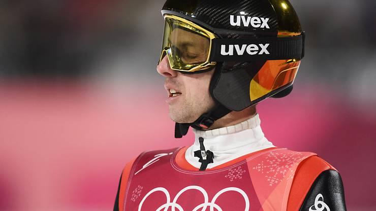 Kein Olympia-Abschluss wie erhofft: Simon Ammann