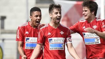 Baden ist in der Aufstiegsrunde! Das 5:0 gegen Thalwil reicht.