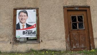 Ausgegrenzt: Obwohl Heinz Brand oft als Bundesratskandidat gehandelt wird, scheint er mit seiner Partei nicht nur zu harmonieren.