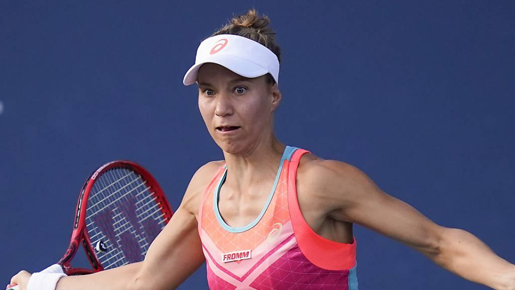 Viktorija Golubic erreicht in Monterrey, Mexiko, die 2. Runde.