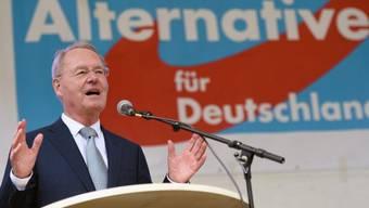 Hans-Olaf Henkel spricht an einem AfD-Anlass (Archiv)