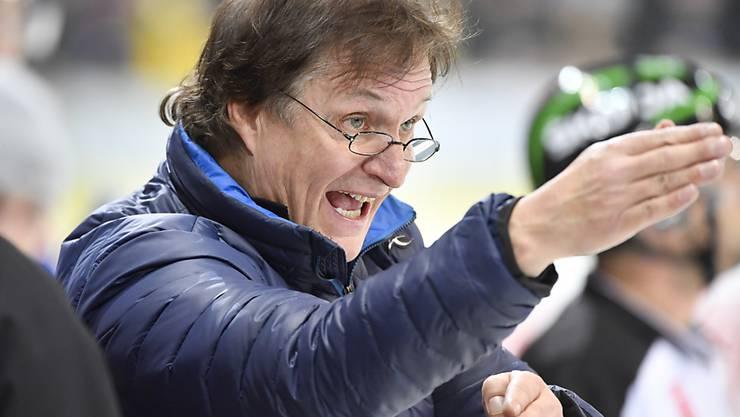 Trainer Arno Del Curto feierte mit Davos den ersten Heimsieg seit fast einem Monat
