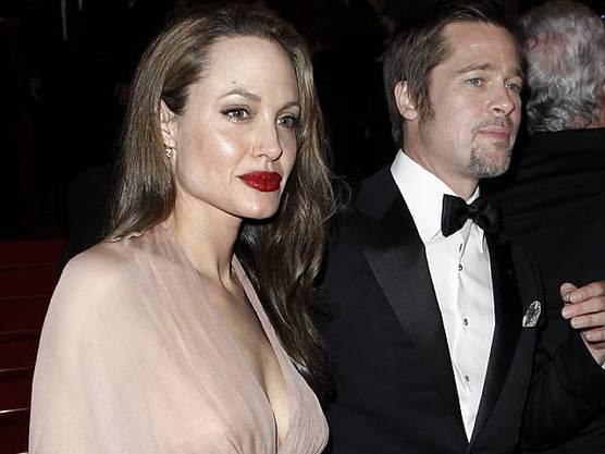 Angelina Jolie mit Brad Pitt (Archiv)