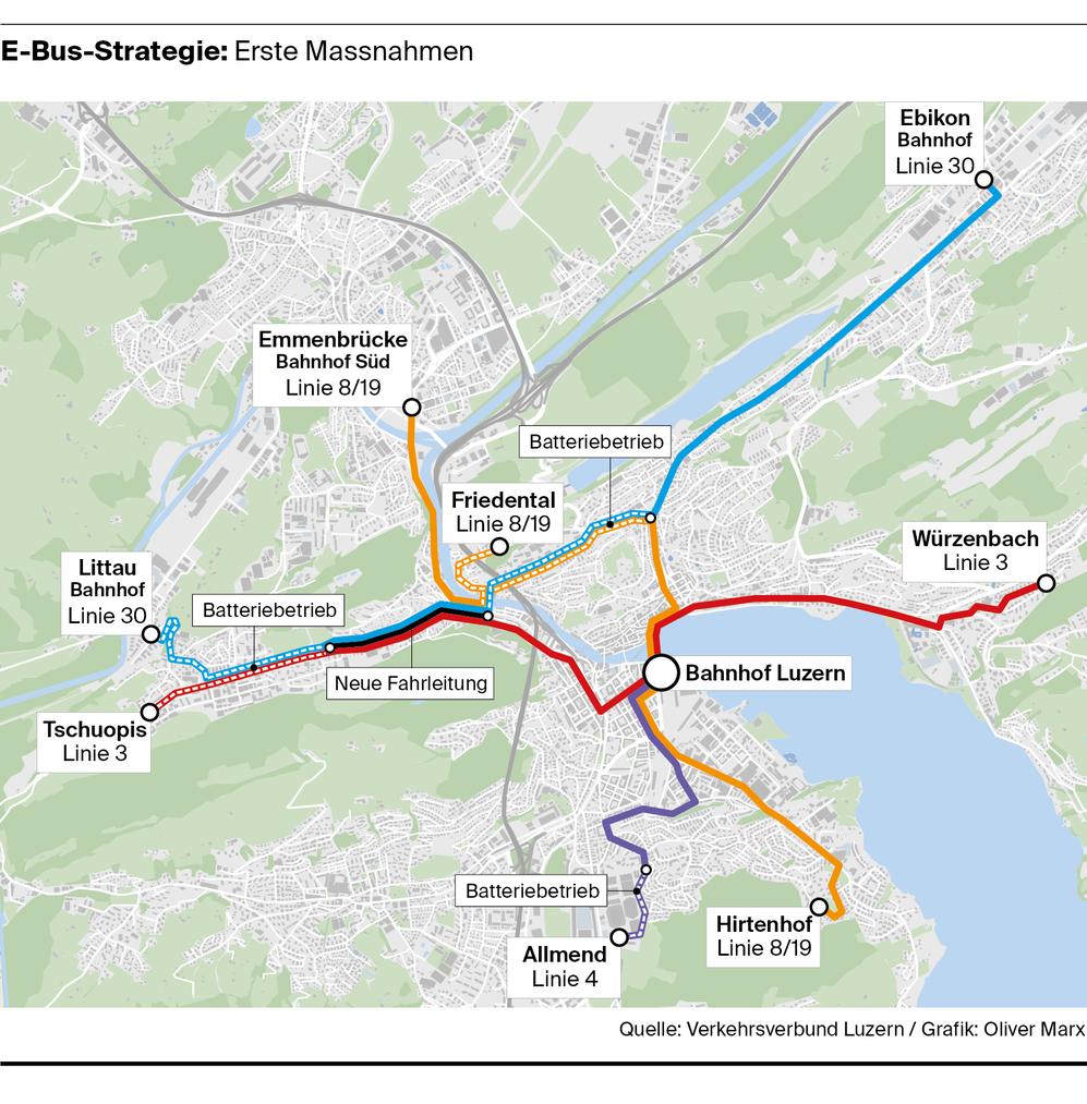 Neue Buslinien und optimierte & verlängerte Linien