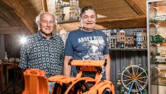 Wie Witwer Bruno Lienhard die Liebe zu den Legos fand
