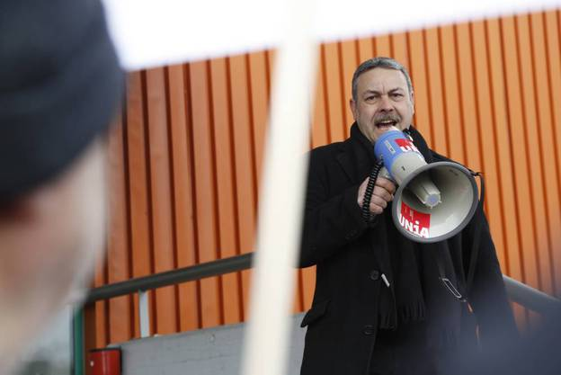 Markus Baumann ruft zum Protest gegen auf