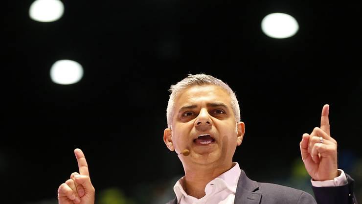 Sadiq Khan, der Favorit für Londons Stadtpräsidium