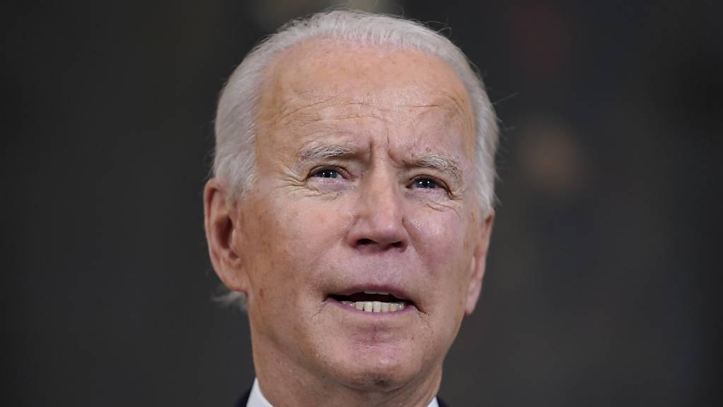 Joe Biden, Präsident der USA. Foto: Evan Vucci/AP/dpa