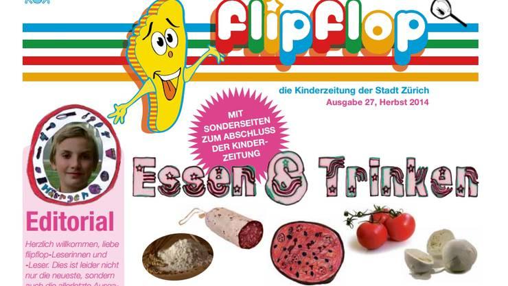 Zeitschrift Flipflop, Ausgabe 27.
