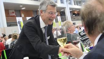 Bankleiter Stefan Züsli pflegt den Kontakt mit den Genossenschaftern.