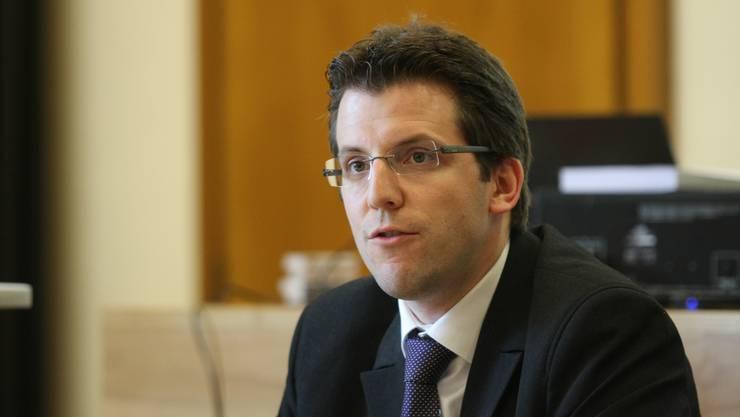 Finanzverwalter Reto Notter will seinen harten Kurs weiterfahren. (Foto: Andreas Kaufmann)