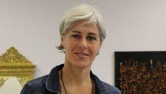 Ursula Nachbur stellt im alten Grundbuchamt Bilder und Skulpturen aus. yzo