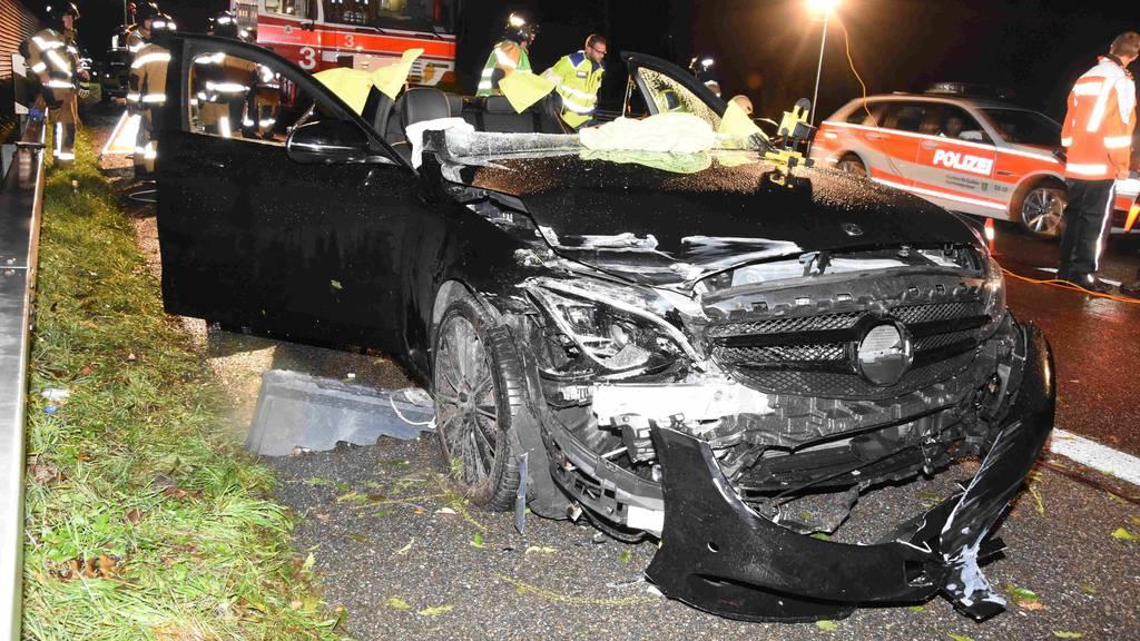 20-Jähriger verursacht Selbstunfall auf Autobahn