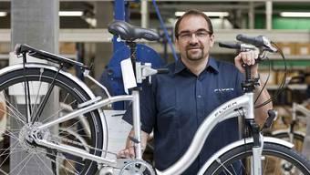 Biketec-Chef Kurt Schär