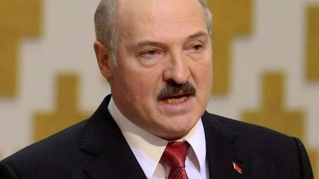 Der autoritäre Machthaber Weissrusslands Alexander Lukaschenko