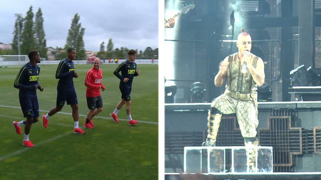 Nations-League-Halbfinal: Schweiz verliert gegen Portugal / Rammstein begeistern Fans in Bern