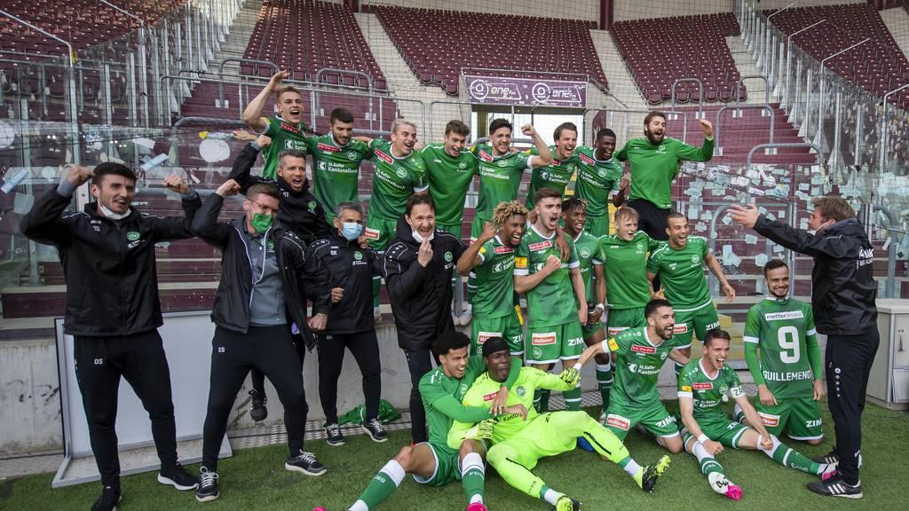 «Können den Kübel holen» – FCSG steht erstmals seit 23 Jahren im Cupfinal