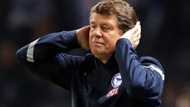 """Niederlage für Hertha-Coach Rehhagel in der """"Entscheidungsschlacht"""""""