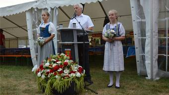 Der Möhliner Bernhard Scholl war 2018 Grossratspräsident – und Festredner in seiner Wohngemeinde. Archiv/hgr