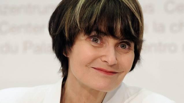 Die damalige Bundespräsidentin Micheline Calmy-Rey (Archiv, 2011)