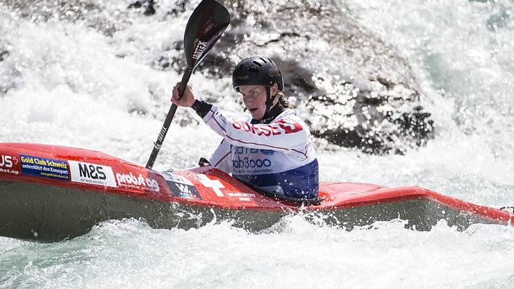 Melanie Mathys auf ihrem Weg zu WM-Bronze
