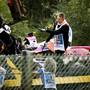 Das Auto-Wrack des in Francorchamps tödlich verunglückten Franzosen Anthoine Hubert