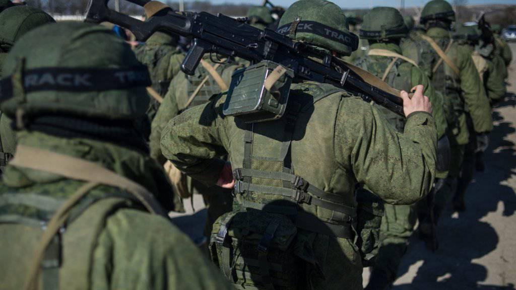 Möglicherweise ein Nervenzusammenbruch: Ein russischer Soldat erschoss bei einer Schiessübung im Fernen Osten des Landes mehrere Kameraden. (Symbolbild)