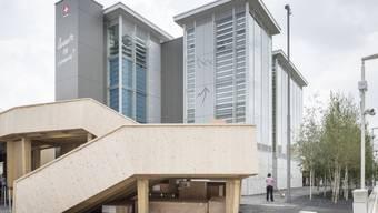 Das Schweizer Pavillon an der Expo in Mailand. Politiker fordern, dass 2030 in der Nordwestschweiz eine Landesaustellung durchgeführt werden soll. (Archiv).