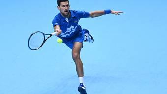 Novak Djokovic hatte keine Mühe gegen Diego Schwartzman