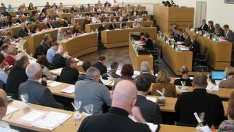Die Synode der Reformierten Landeskirche Aargau in Plenum