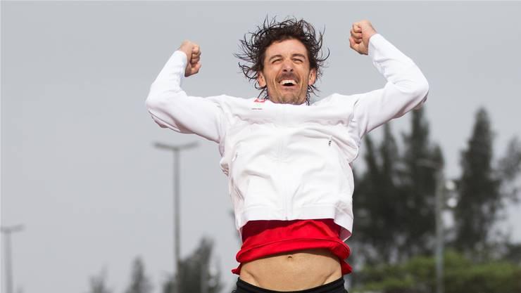 Sein schönster Moment: Fabian Cancellara gewinnt in Rio zum zweiten Mal Olympia-Gold key
