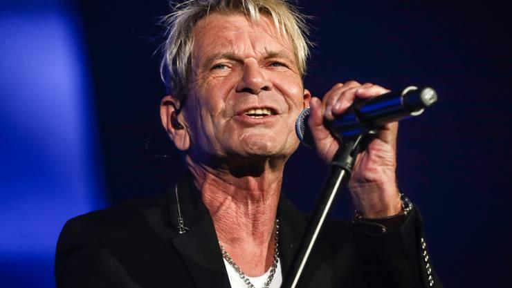 """Der deutsche Sänger Matthias Reim hat vor dreissig Jahren mit """"Verdammt ich lieb dich"""" Erfolge gefeiert - damals noch ohne Falten. Derartige Zeichen der Zeit hält er für glaubwürdig. (Archivbild)"""