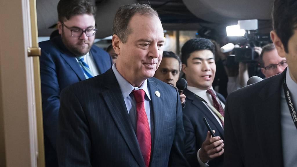 Demokraten machen Schiff zu Trumps Chefankläger