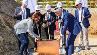 Grundsteinlegung für neues Audi Center Baden