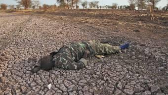 Ein getöteter Soldat (Symbolbild)