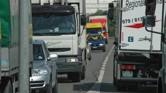 Der Verkehr im Bünztal – hier die Nord-Süd-Hauptachse – wird immer dichter, der Regionalplanungsverband sucht Lösungen zur besseren Bewältigung