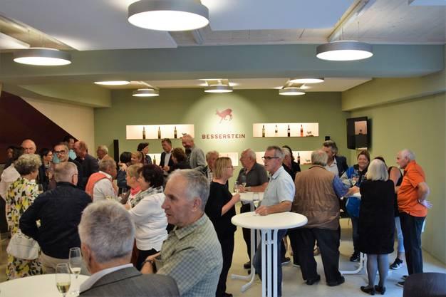 Die Besserstein Wein AG eröffnet das neue Stammlokal im Winkel in Villigen.