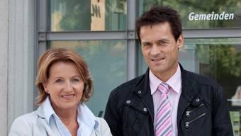 Renate Gautschy und Peter Walz leiten das Projekt «Pforte Arbeitsmarkt».