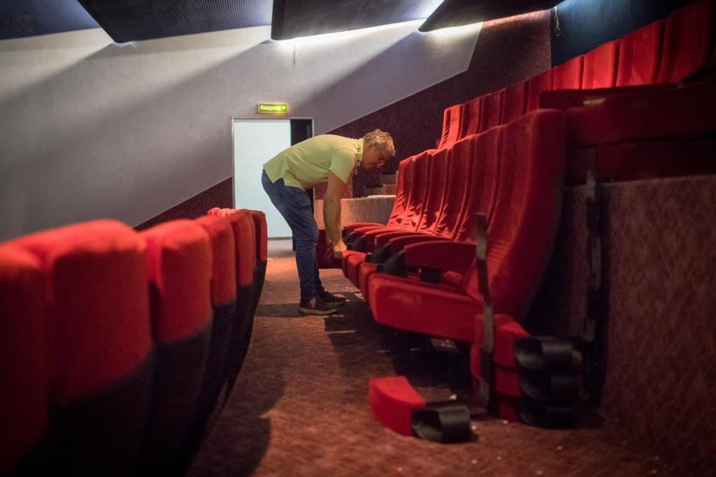 Das Kino Rex ist seit vergangenen August geschlossen. (© Benjamin Manser/Tagblatt)