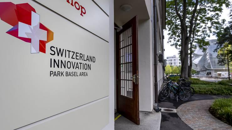 Der neue Standort von Switzerland Innovation Park Basel Area auf dem Novartis Campus in Basel