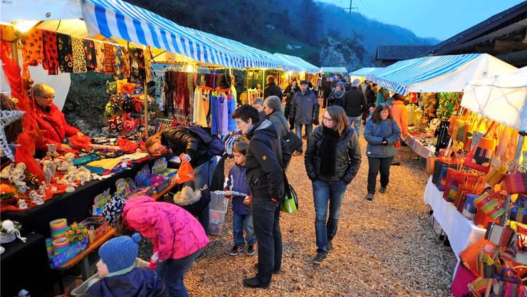 Stets stimmungsvoll: Der Adventsmarkt im Ruttiger.