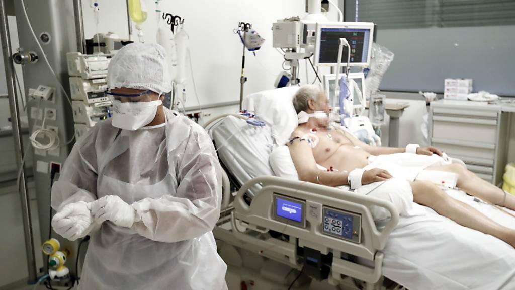 Frankreich registriert 16'000 Corona-Neuinfektionen