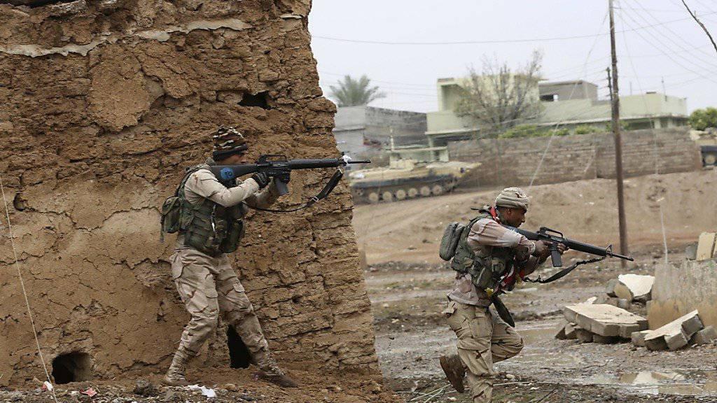 Irakische Armee will Osten von Mossul in «einigen Tagen» erobern