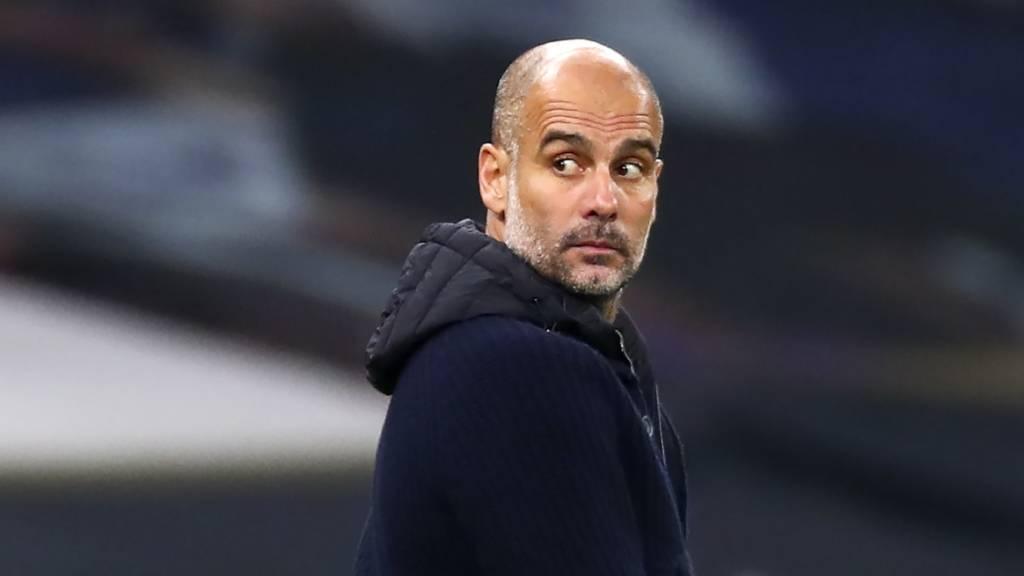 Enttäuschter Abgang vom Spitzenspiel: Pep Guardiola und Manchester City verlieren gegen Tottenham Hotspur 0:2