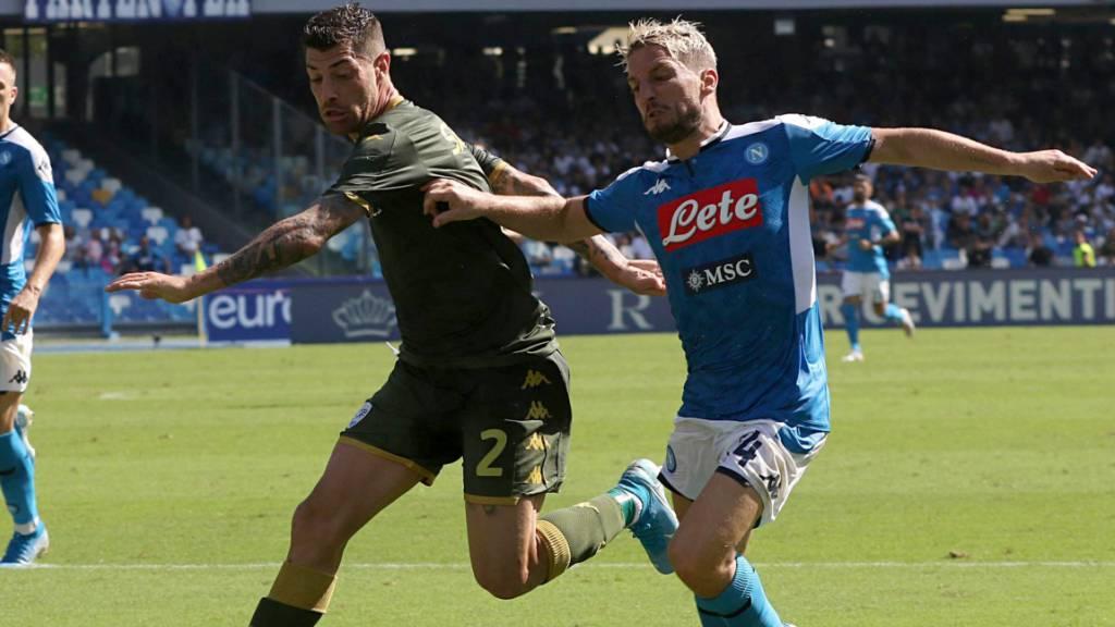Napoli schlägt Brescia 2:1