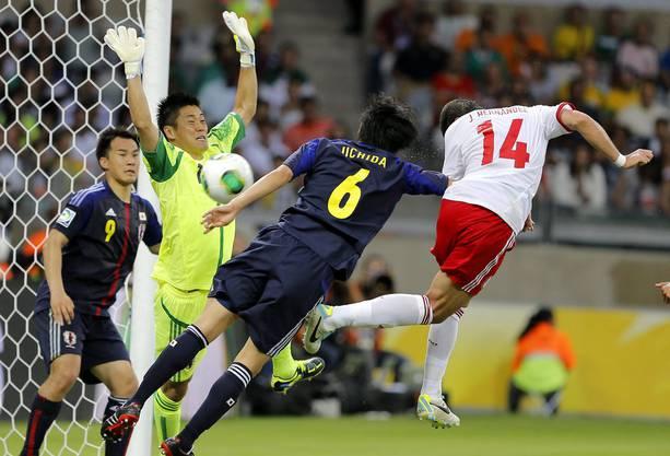 Der beste Vertreter aus Asien, Japan, liegt in der Weltrangliste nur auf Rang 44.